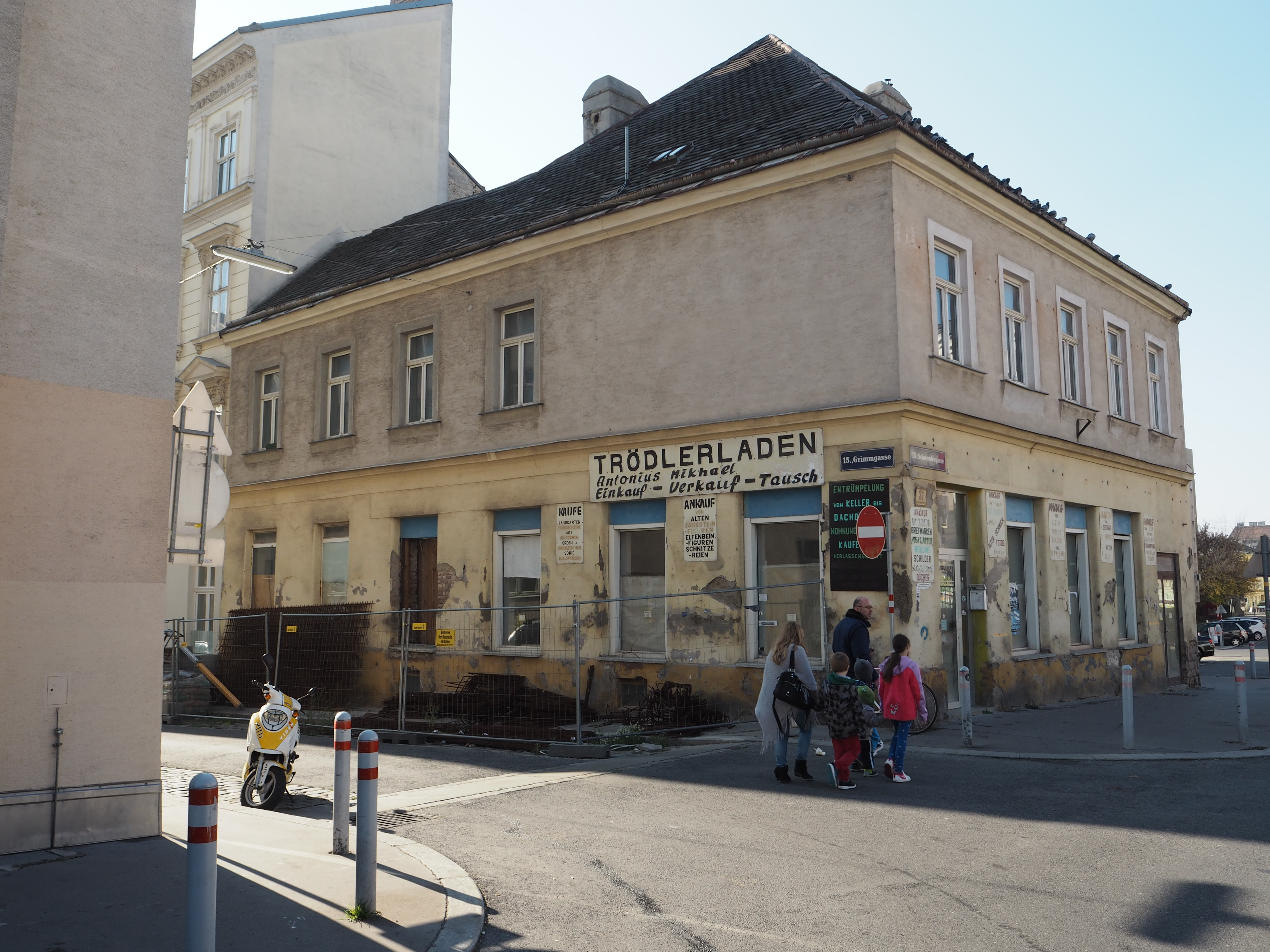 The Visual Change Of Schwendermarkt. From Back Then To Emerging New Spaces  Of Encounter For The Local Community (Sources: First Picture, ...